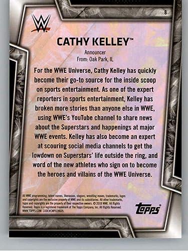 2018 TOPPS WWE WOMEN/'S DIVISION DE CATCH Cox #8 Cathy Kelley