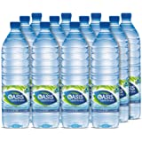 Oasis Still Water Plain - 12 x 1.5 Litres
