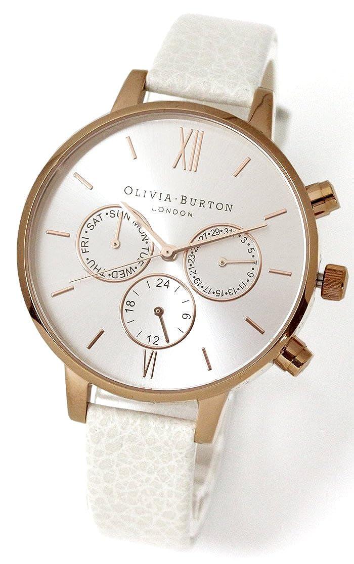 [オリビアバートンノ]Olivia Burton レディース 腕時計 ビッグダイヤル ローズゴールド OB13CG01C [並行輸入品] B0746CRXHX
