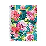 Vera Bradley Women's Mini Notebook with Pocket (Superbloom Flowers)