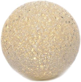 LED Bola Pelota Blanco Cálido 12 cm iluminada Decoración bolas ...
