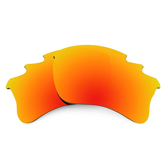 2fdebcc52b Revant Polarized Replacement Lenses for Oakley Flak Jacket XLJ Vented Fire  Red MirrorShield®  Amazon.co.uk  Clothing