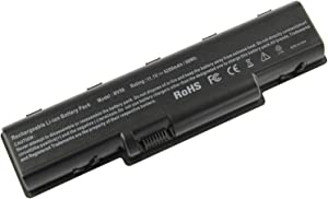 New Laptop Battery for Acer Aspire 5532 5732Z 5334 5517 AS09A31 AS09A61 AS09A41 AS09A51 AS09A71 AS09A75-12 Months Warranty - 6 Cells 11.1V 5200mAh (Extended Performance Battery)
