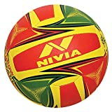 Nivia Hand Stitched PU Competition Throw Ball, 18 Panels - Size 5- Grain
