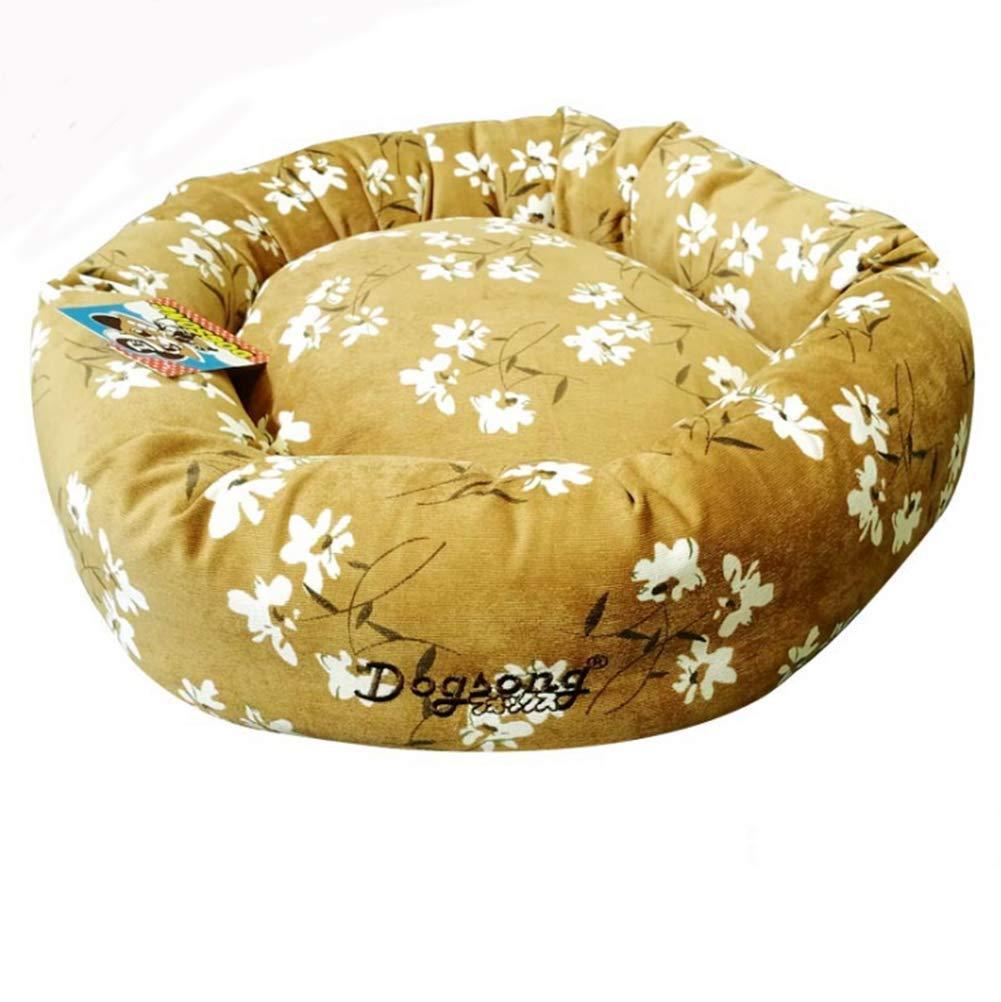 Beige Medium Beige Medium Kennel Cat Litter Summer Small Medium Large Dog Pet Supplies Removable gold Hair