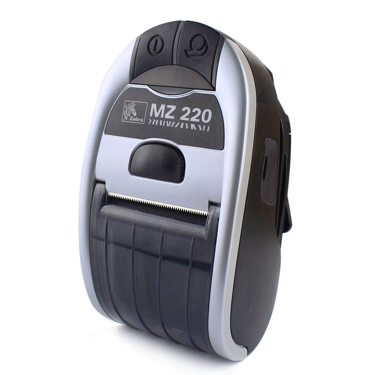 Zebra MZ 220 Mobile Bluetooth Receipt Printer MZ 220 Thermal Wireless Printer Direct Portable Printer M2E-0UB0E020-00 ZUYE
