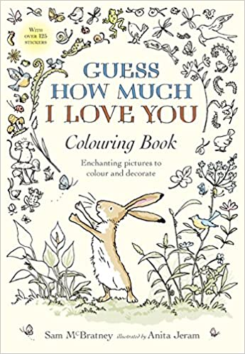Guess How Much I Love You Colouring Book Amazonde Sam Mcbratney