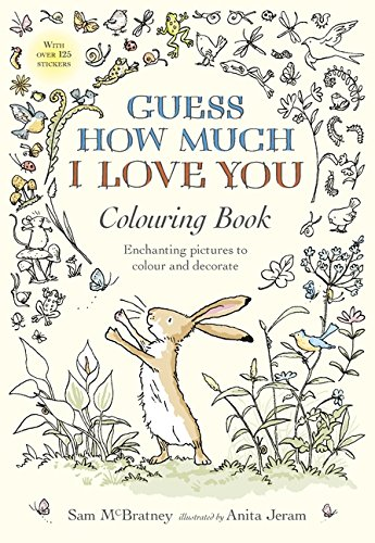 Guess How Much I Love You Colouring ()