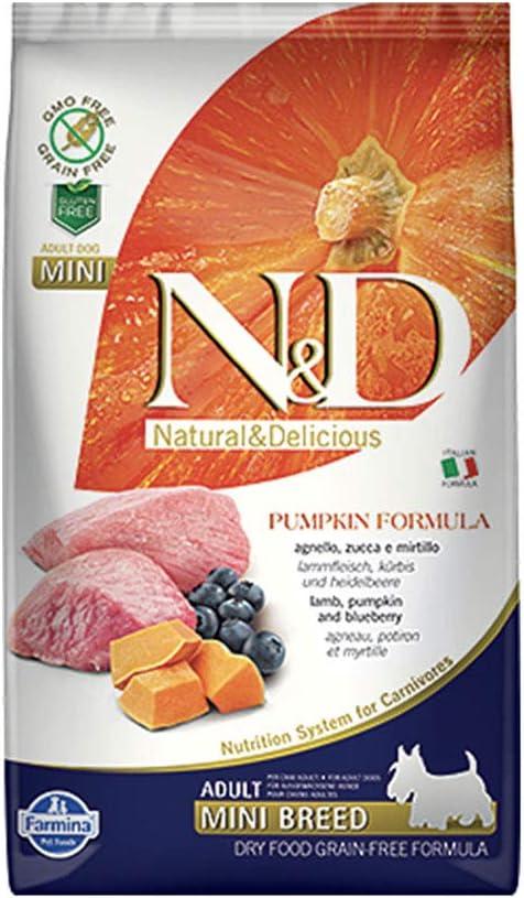 Farmina N & D Dog Pumpkin Lamb & Blueberry Adult Mini Gr 800