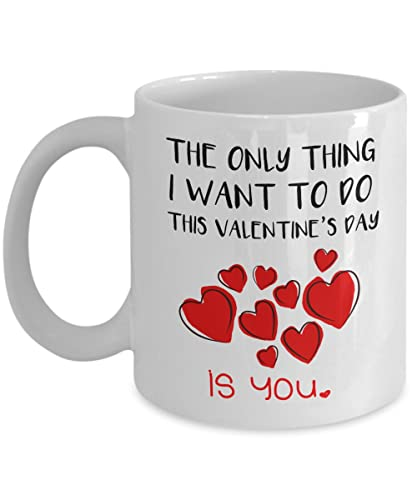 Amazon Com Coffee Mug With Sayings Unique And Cute Valentine S Day