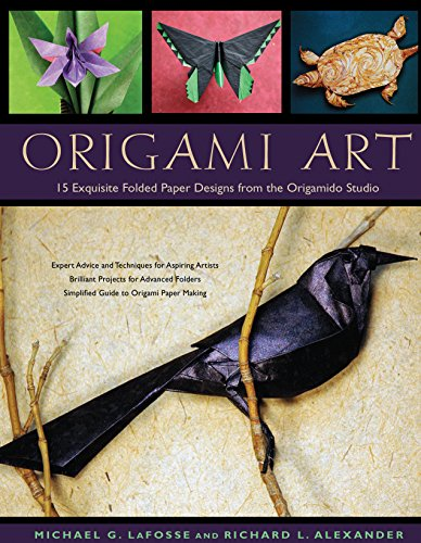 Origami Art: 15 Exquisite Folded Paper Designs from the Origamido Studio: Intermediate and Advanced Projects: Origami Book with 15 Projects