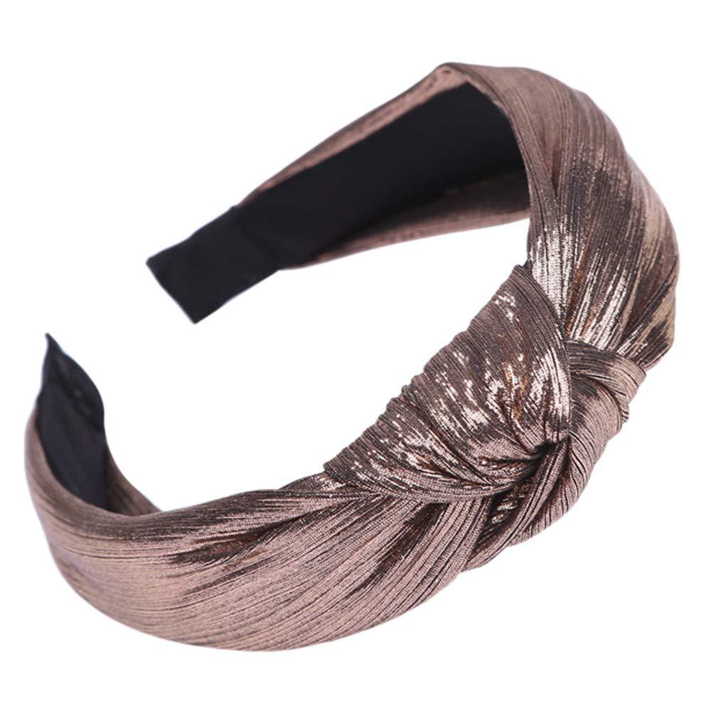 TAKOO Diadema para mujer Banda para el cabello de tela casual Accesorios para la banda para el cabello