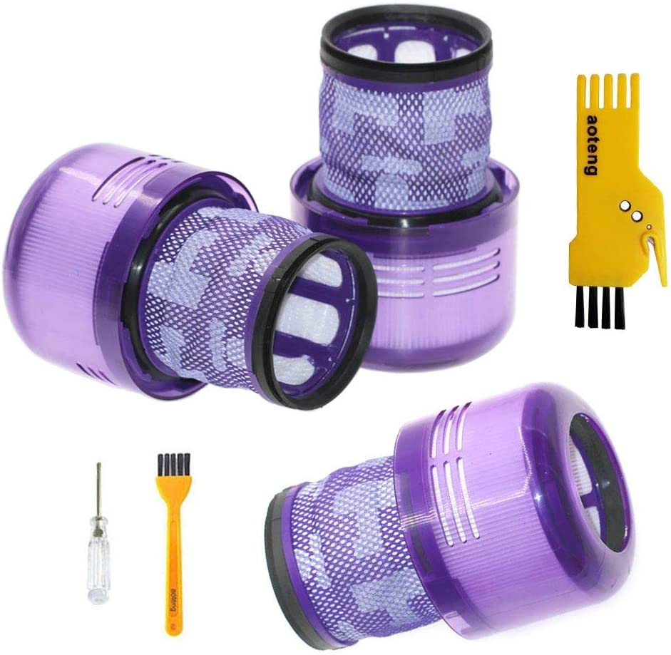 Repuestos de filtro para Dyson V11 Torque Drive Inalámbrico Aspirador Aspirador Kit de accesorios Paquete de 3 piezas de filtros Hepa: Amazon.es: Hogar