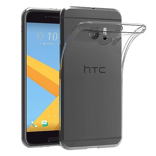 10 opinioni per HTC 10 Custodia Cover, AICEK HTC 10 Silicone Caso Molle di TPU Cristallo