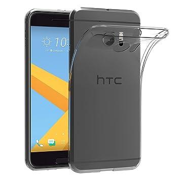 AICEK Funda HTC 10, HTC 10 Funda Transparente Gel Silicona HTC 10 Premium Carcasa para HTC 10