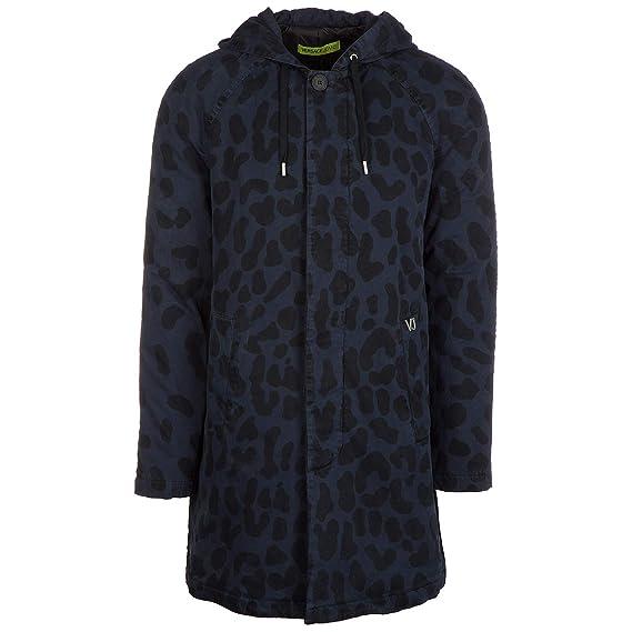 Versace Jeans Parka Homme blu 48 EU  Amazon.fr  Vêtements et accessoires 3065dc7a29e
