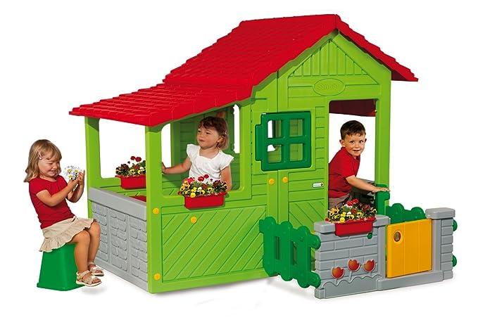 Sommerküche Smoby : Smoby pretty haus mit sommerküche: smoby spielzeug für draußen