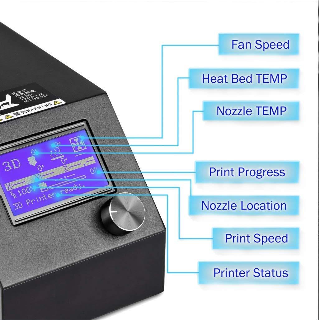 Impresora 3d, CTC A10S DIY Prusa I3 MK8 Desktop Upgrade 3d ...