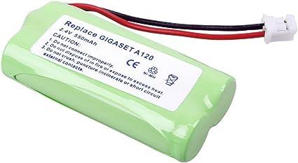 Power Batería de Ni-Mh para Siemens Gigaset A120 Gigaset A14 X GIGASET A24 X GIGASET A16 X GIGASET A26 X GIGASET A140: Amazon.es: Electrónica