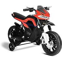 Playkin Faster Moto Infantil de batería, Color Rojo
