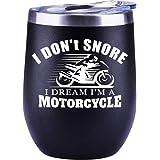 Motorcycle Gifts For Men | Harley Davidson | Grandpa | Women | Christmas Gifts | Dad | Husband | Boyfriend | Funny Wine…