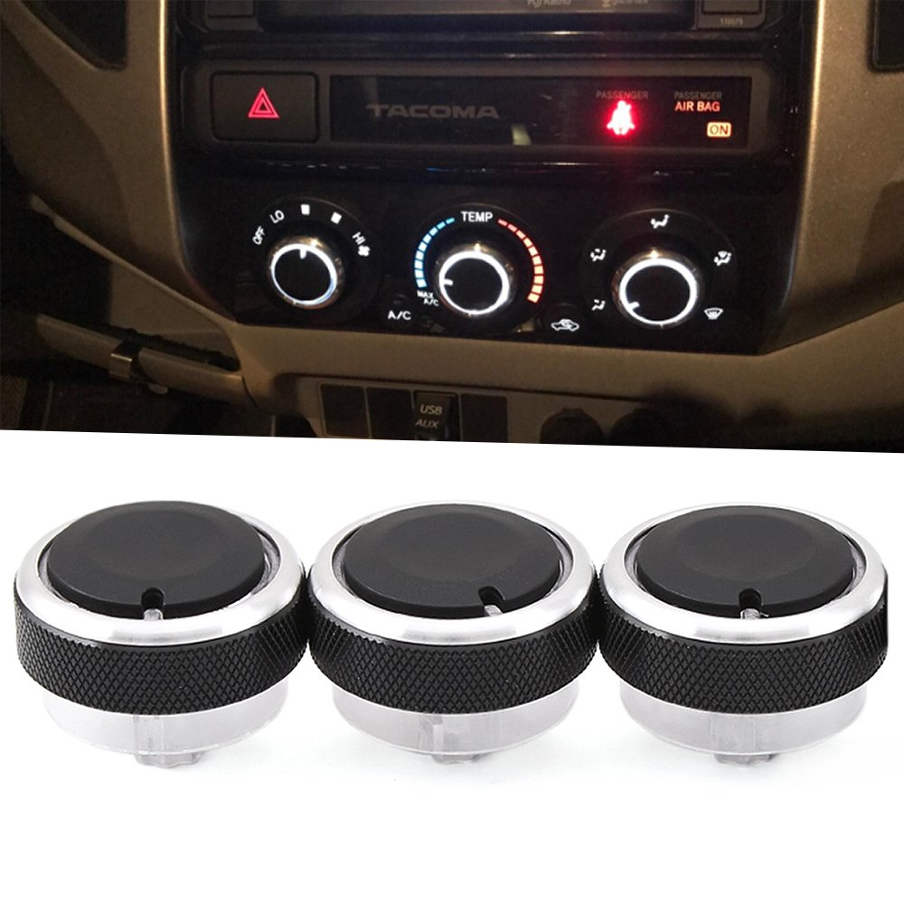A h heating air conditioning service - Control Knob Heater A C Or Fan Replacement For Lost Or Damaged Control Knobs For Toyota Tacoma