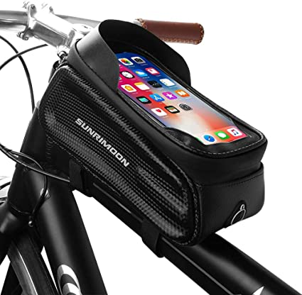 MTB Bike Phone Bag Touch Screen Frame Bag Pannier Bicycle Mobile Phone Holder