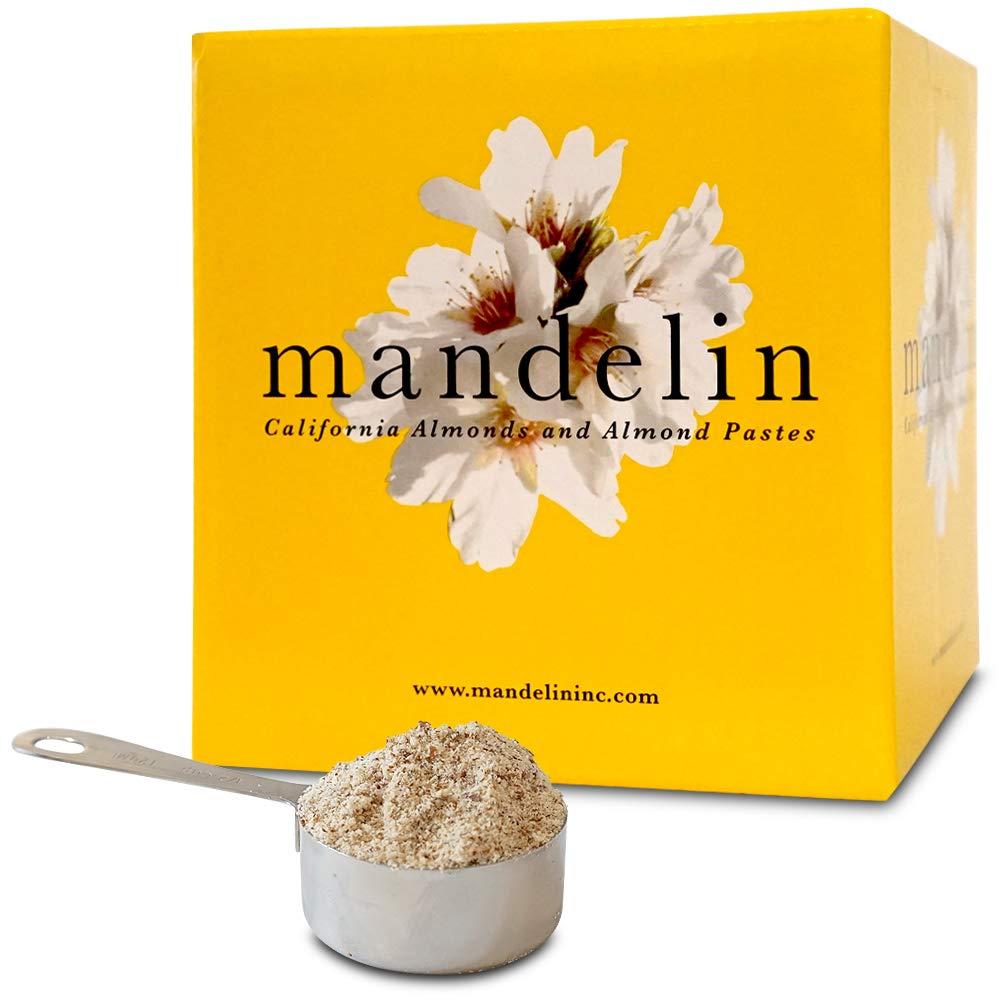 Mandelin Fresh Natural Almond Flour - 100% Almond Flour / Meal, With Skin, Super Fine Mill, Non-GMO, Gluten Free, Vegan, Keto, Plant Based Diet Friendly (5 lb)