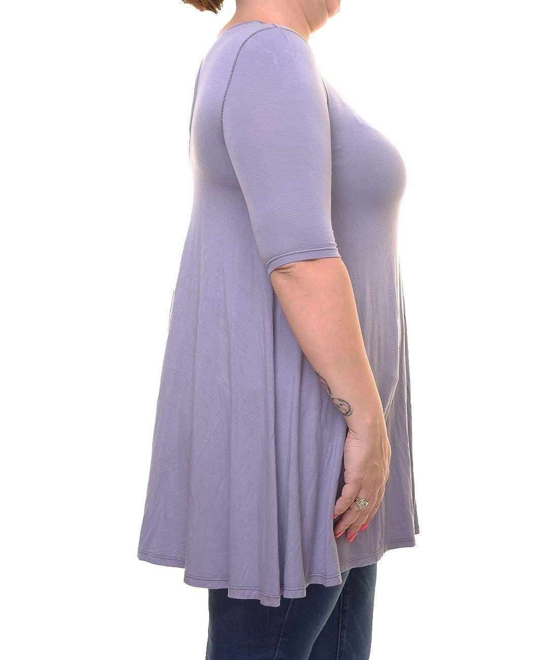 Free People Jacqueline Elbow-Sleeve Tunic