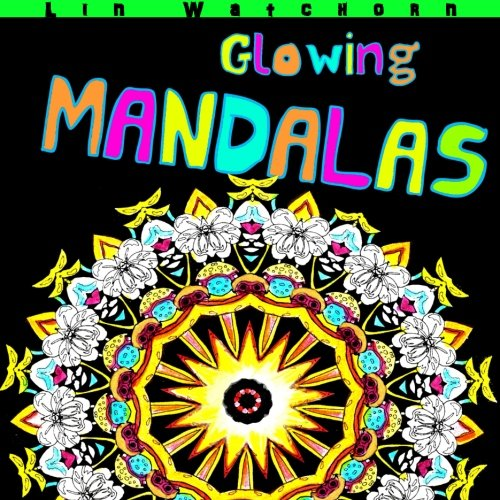 Glowing Mandalas Background Mandala Coloring product image