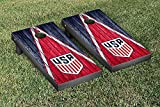 US Soccer Regulation Cornhole Game Set Weathered Triangle Version