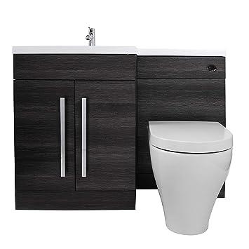 Aquariss Meuble Sous Vasque Couleur Gris Calm | WC Cordoba Habillage Inclus