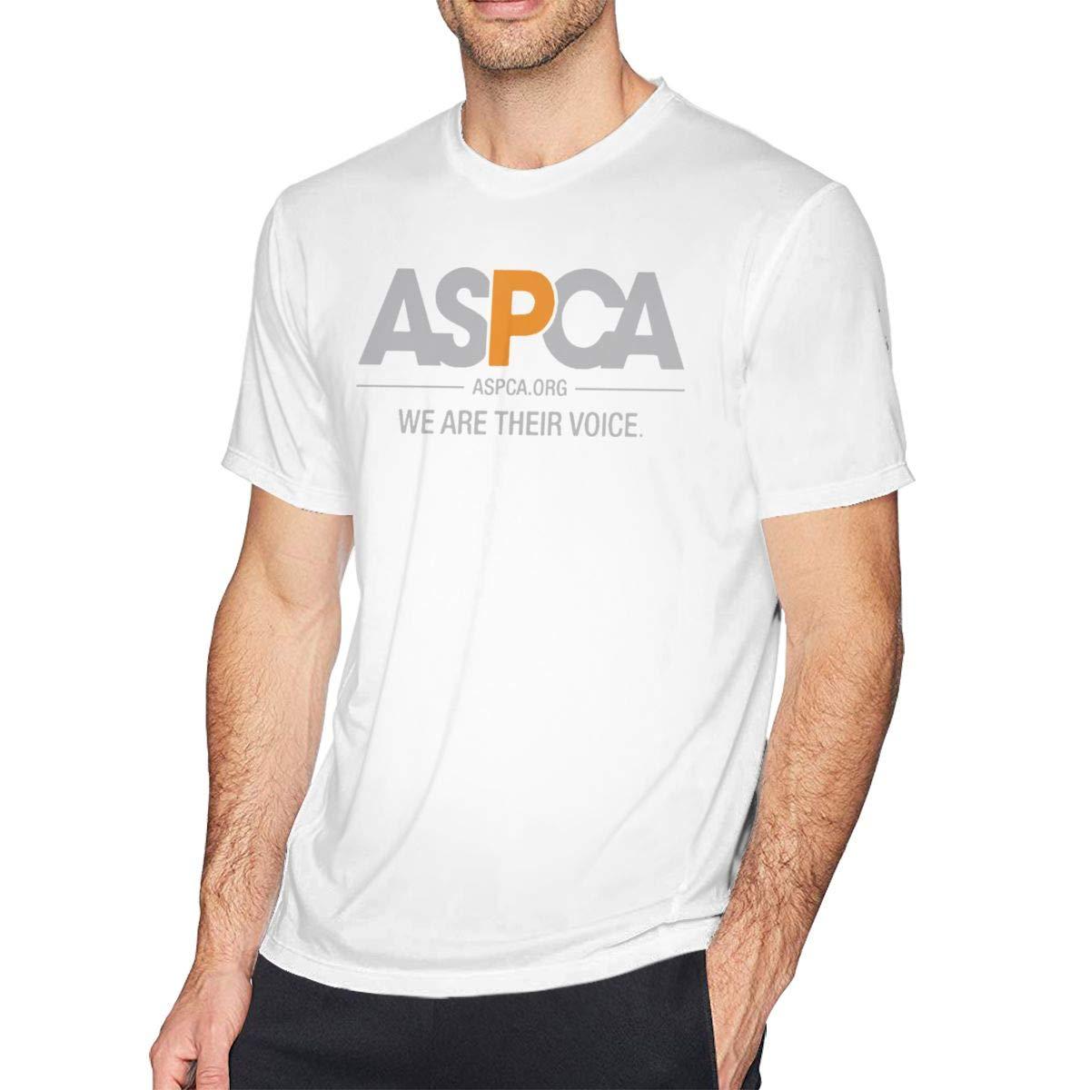 HIPGCC Mens Ultra Soft ASPCA Classic Outline Design Shirt