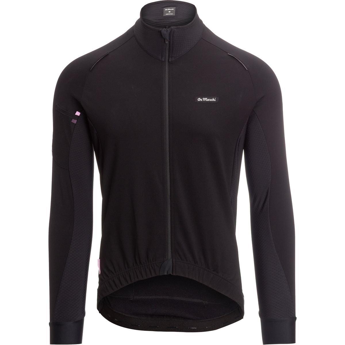 De Marchiトレーニングジャケット – メンズ B0767KL7R6 Large|ブラック/ネロ(Black/Nero) ブラック/ネロ(Black/Nero) Large