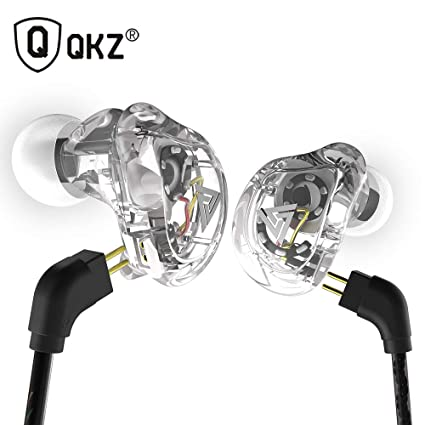 QRMH in-Ear Headphones Professional-Grade HiFi Sound Quality Coaxial Four-Unit Subwoofer