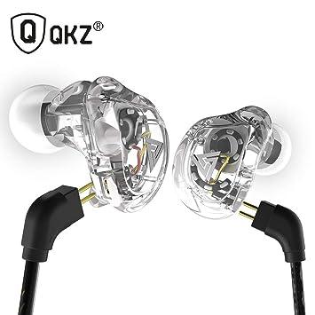 QRMH Auriculares En La Oreja Profesional De Calidad De Sonido De Alta Fidelidad Coaxial De Cuatro