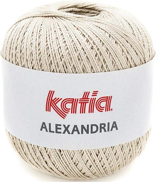 Lanas Katia Alexandria Ovillo de Color Beis Cod. 13: Amazon.es: Hogar