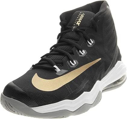 Nike Nike Air MAX Audacity 2016 - Zapatillas de Material Sintético para Hombre Negro Nero/Bianco/Oro Negro Size: 44.5: Amazon.es: Zapatos y complementos