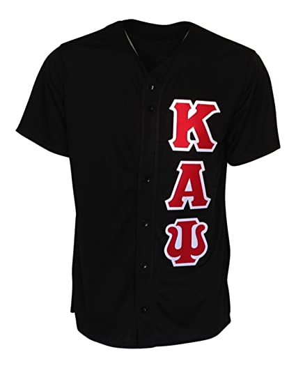 Amazon.com  Mega Greek Mens Kappa Alpha Psi Baseball Jersey  Clothing 3fdf458afbfe