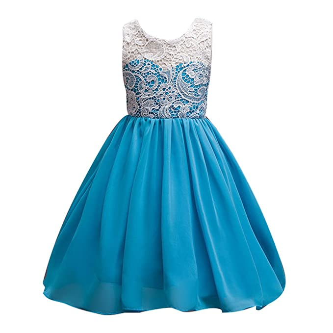 wuxi Vestidos de Princesa Dulce - Vestido de Novia Elegante Vestidos de Florista de Encaje para