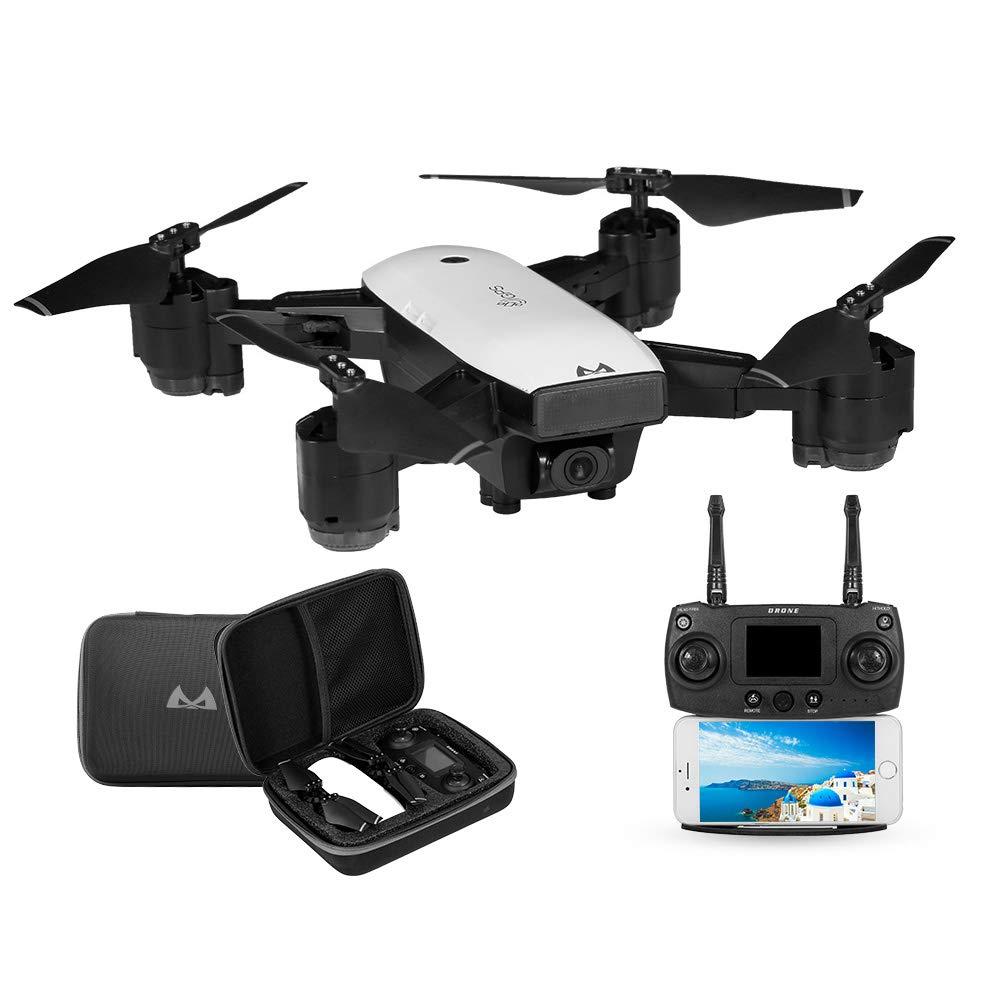 Goolsky SMRC S20 RC Drone 1080P Gran Angular 5G WiFi FPV Cámara Sígueme Altitude Hold GPS Quadcopter para Adultos Principiantes