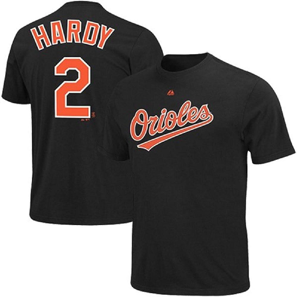 Amazon.com : Majestic J.J. Hardy Baltimore Orioles Black Youth ...