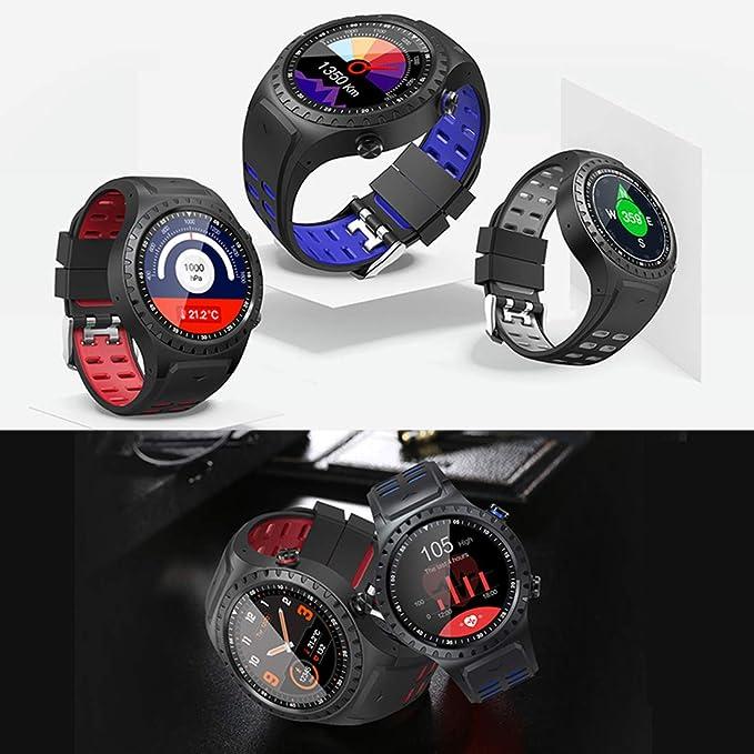 Amazon.com: Smart Watch M1 IP67 Waterproof Support Micro SIM Card Bluetooth Dial Call Heart Rate Monitor GPS Watch Sports Smartwatch,Blue: Electronics