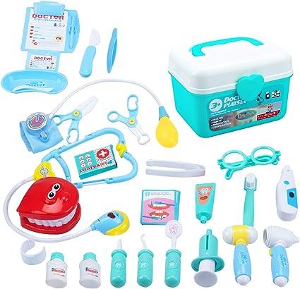 EFO SHM dokterskist dokter speelgoed kinderartskoffer
