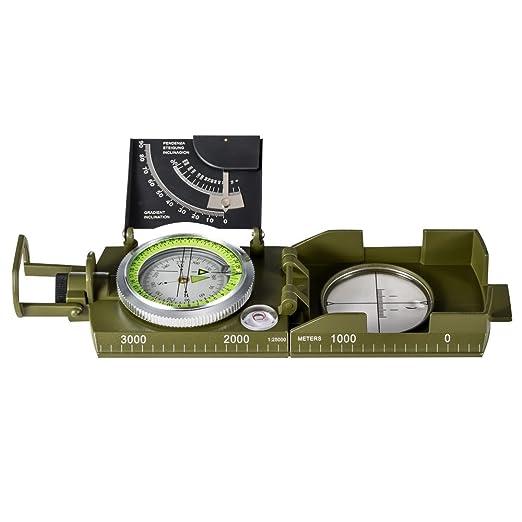 10 opinioni per BNISE Bussola Militare, Impermeabile ed a Prova di polvere, Guida Direzionale,