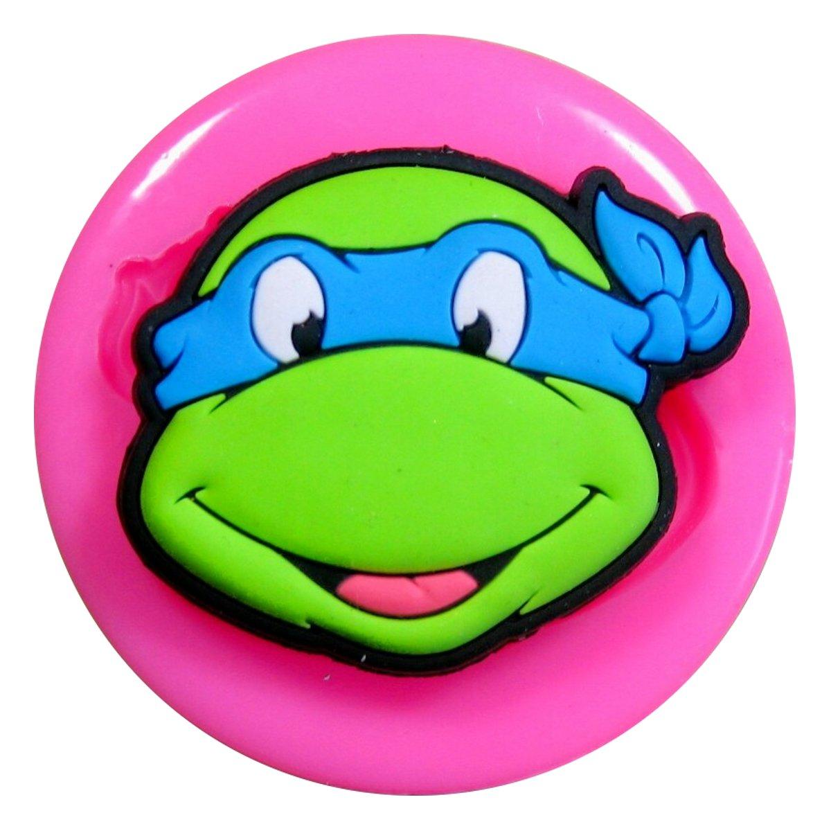 Tortugas Adolescentes Mutantes Ninja TMNT Molde de silicona para la ...