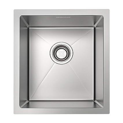 Amazon.com: MENSARJOR - Fregadero de cocina de acero ...