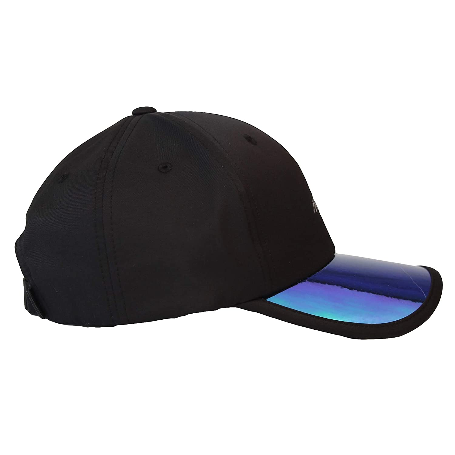 WITHMOONS Baseball Cap Glossy Shiny Brim Newyork Rubber Patch Hat CR11219