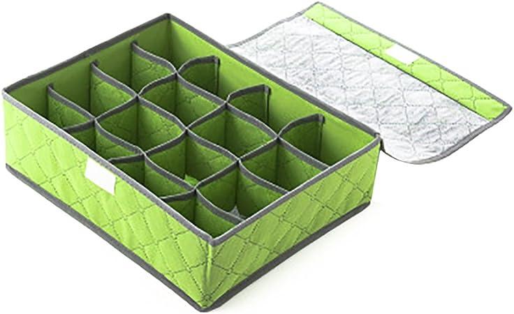Drawihi 1PC Caja organizadora de tela para cinturones Armario Organizador Para Cajones Organizador para Cajones: Amazon.es: Hogar
