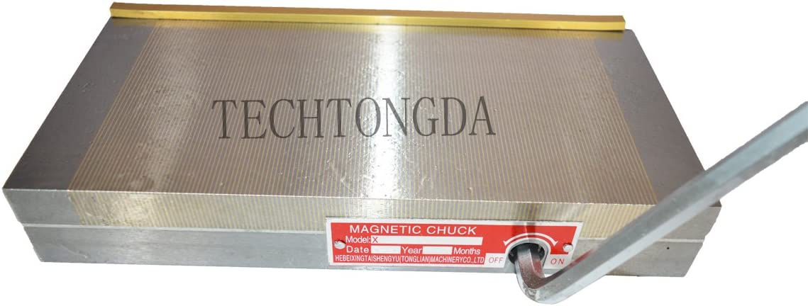 INTBUYING Fine Pole Permanent Magnetic Chuck 6/×12 inch For Grinding Machine Lathe Magnets